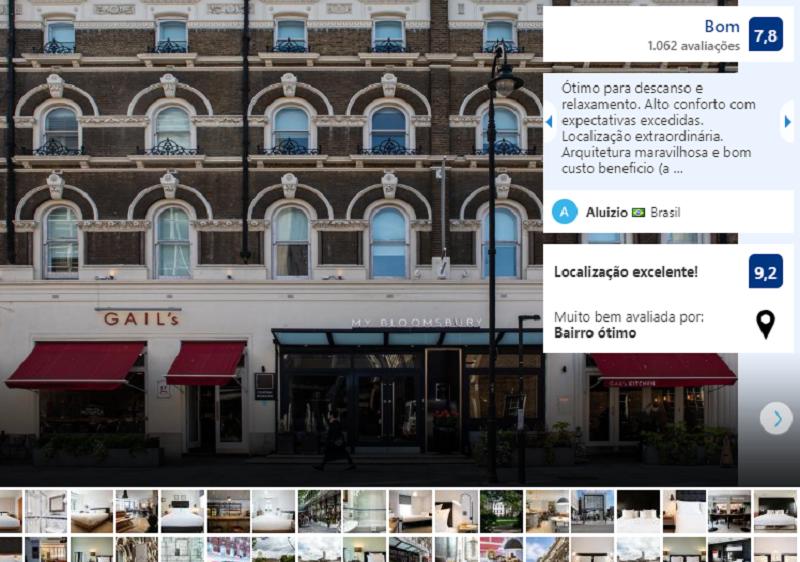 Hotel Myhotel Bloomsburry em Londres