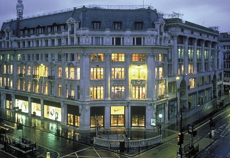 Loja Niketown em Londres