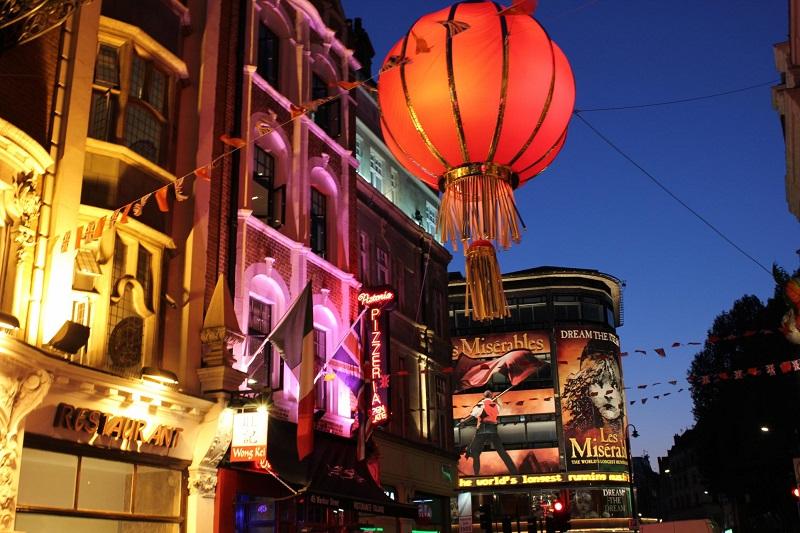 Ano Novo Chinês em Londres