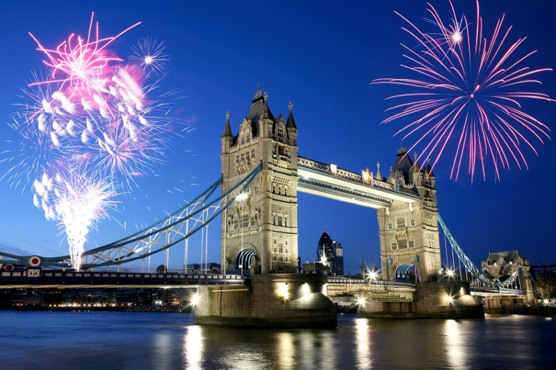 Bonfire Night em Londres