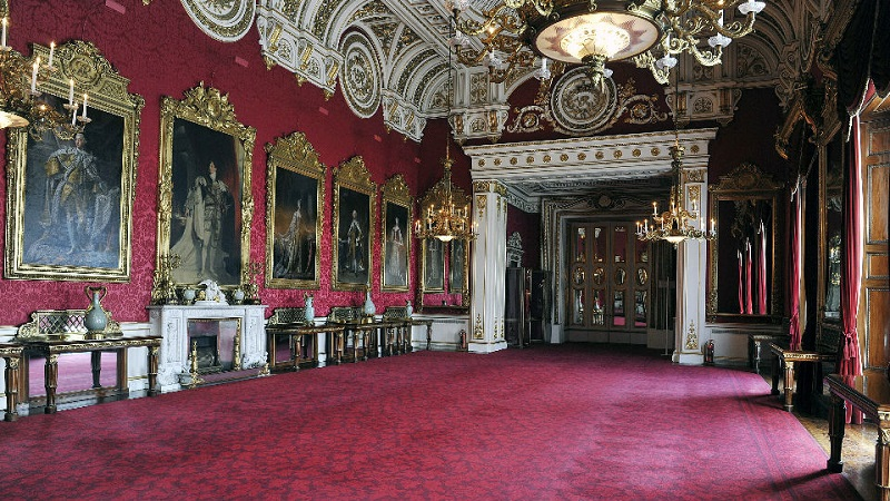 Visita ao Palácio de Buckingham