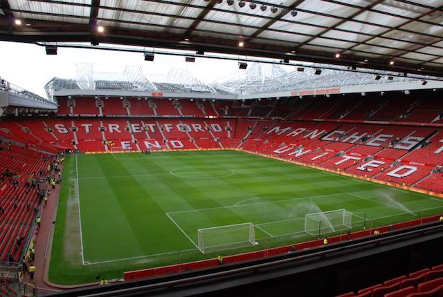 Estádio Old Trafford em Manchester