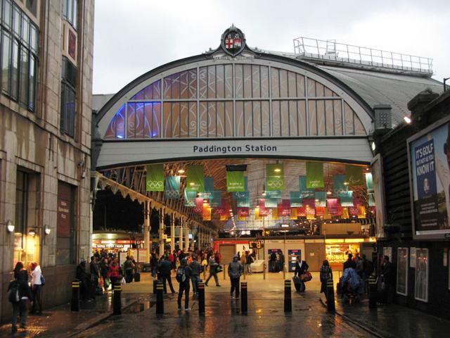 Estação Paddington em Londres