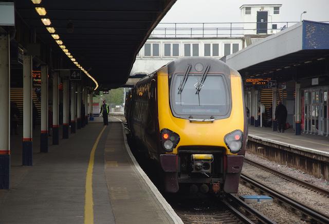 Estação de trem em Southampton