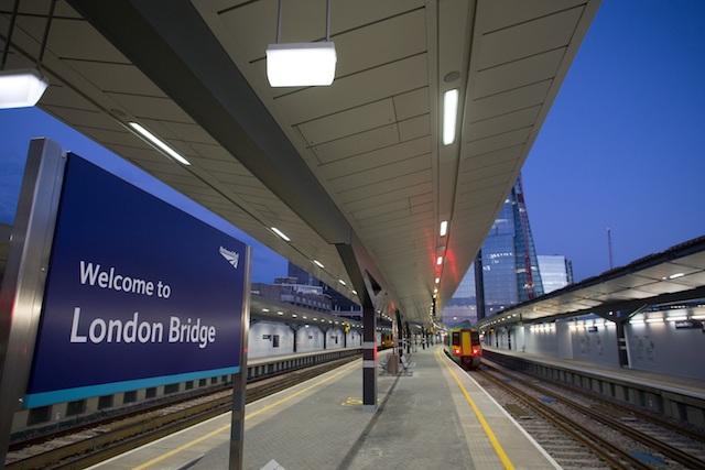 Estação de London Bridge em Londres