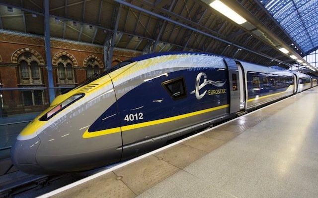 Trem Eurostar de Londres a Bruxelles Midi