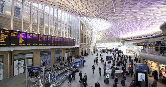 Estação King Cross em Londres