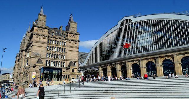Estação Lime em Liverpool