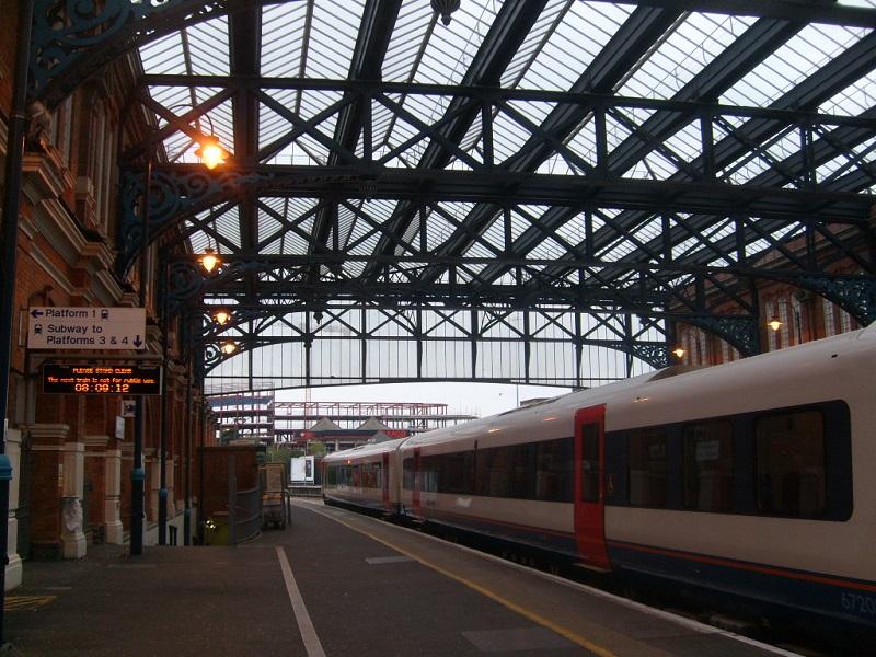 Estação na Inglaterra