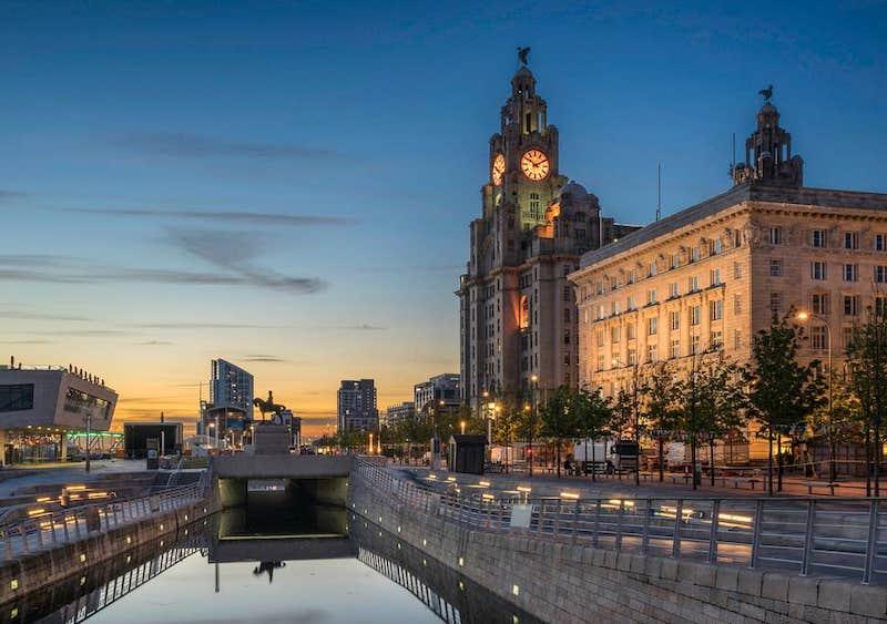 Fim de tarde em Liverpool