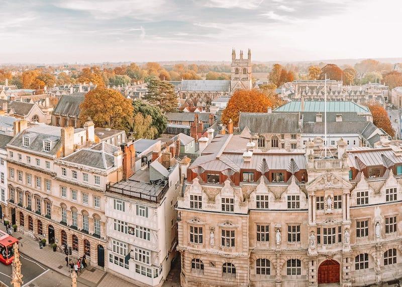 Remessas Internacionais para Oxford