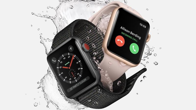 Apple Watch resistente à água