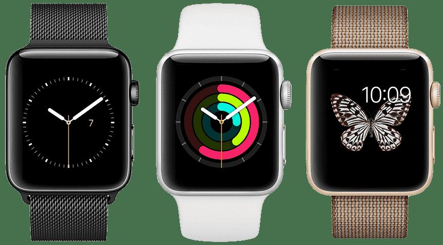 Modelos de pulseira Apple Watch
