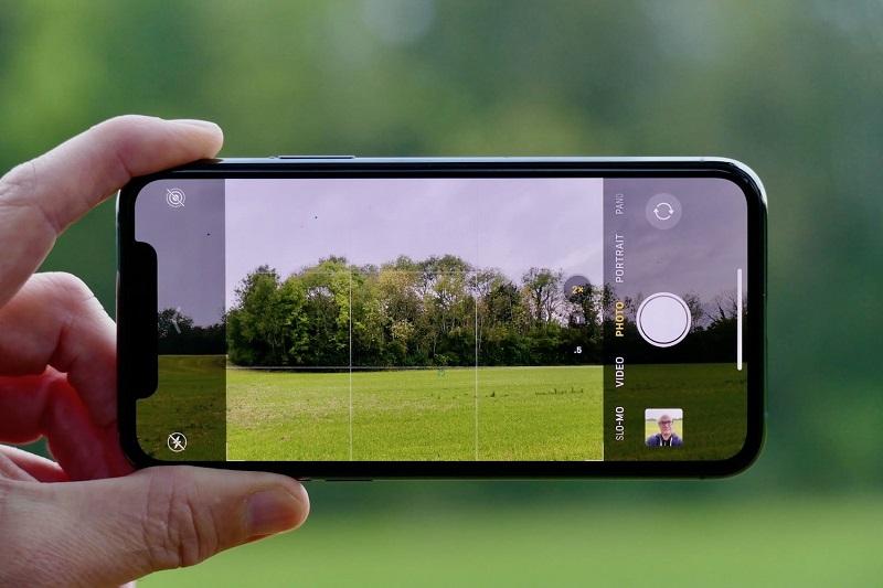 Funcionalidades de câmera do iPhone 11