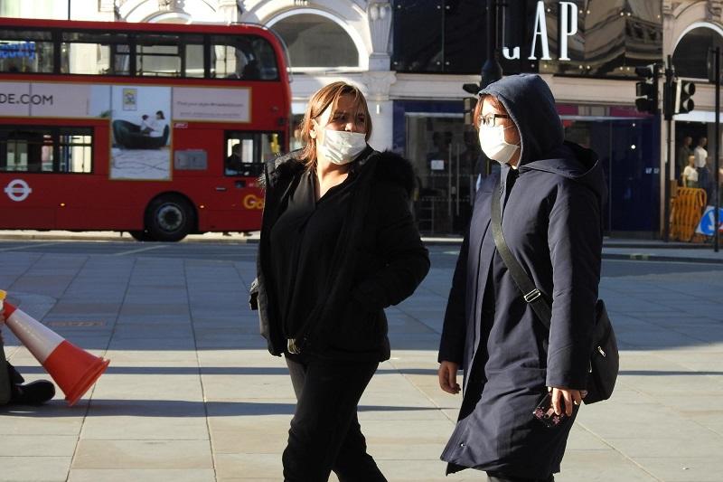 Londres durante a pandemia do novo coronavírus