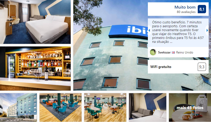 Ibis budget London Heathrow T5