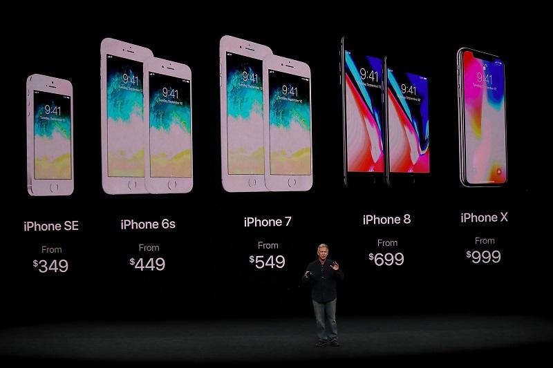 Modelos de iPhone 7, 8 e X