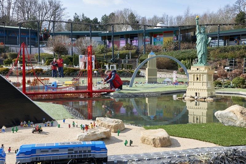 Parque Legoland em Windsor