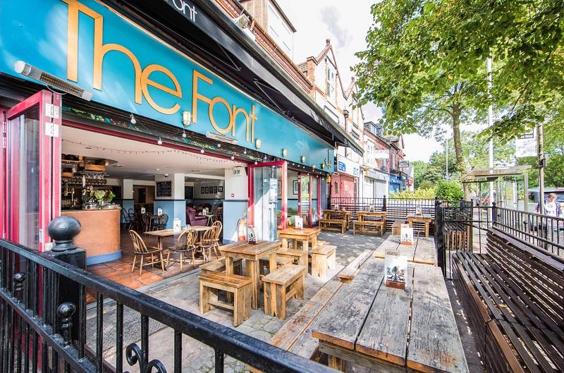 Bar The Font Chorlton em Manchester
