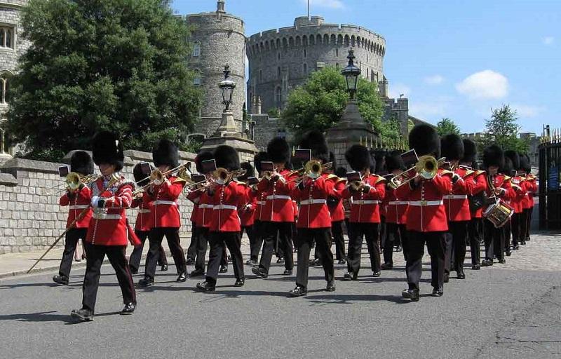 Troca de guardas do Castelo de Windsor
