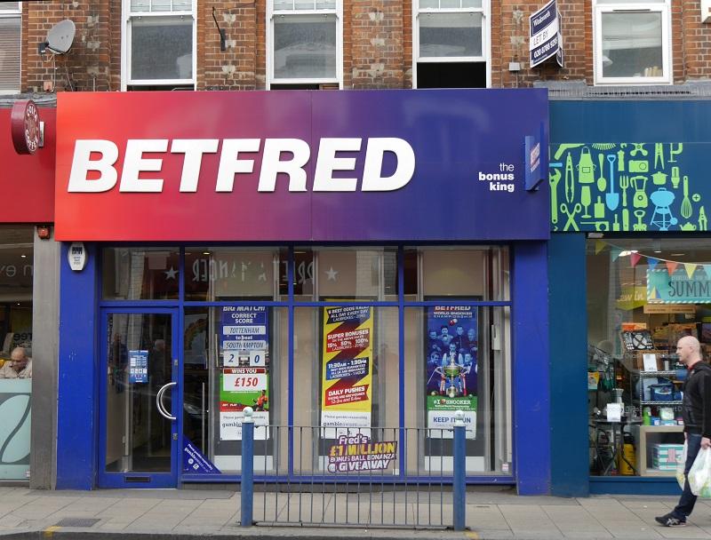 Loja de apostas Bet Fred