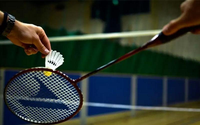 Jogo de badminton em Londres