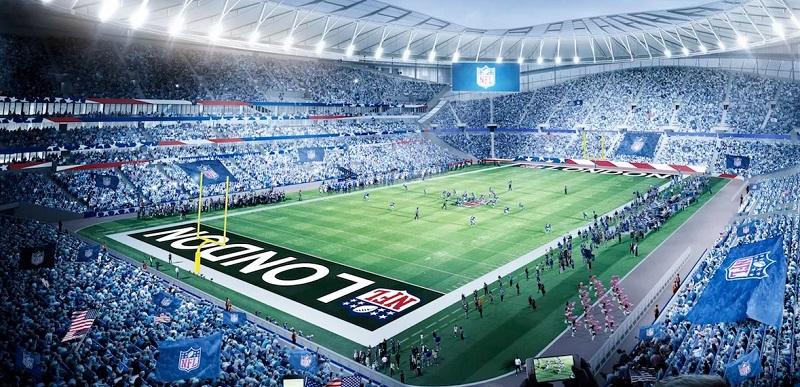 Jogo da NFL em Londres
