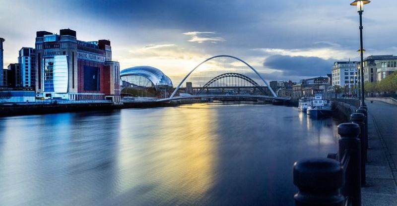 Fim de tarde em Newcastle