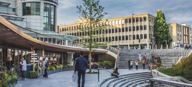 Praça em Southampton