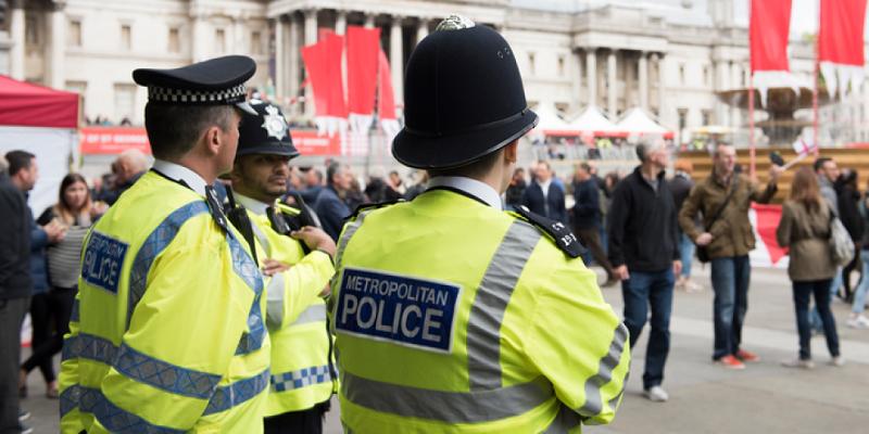 Polícia em Londres